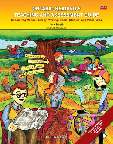 Ontario Reading 5 Teaching and Assessment Guide - from Curricket educational - a Teacher Guide