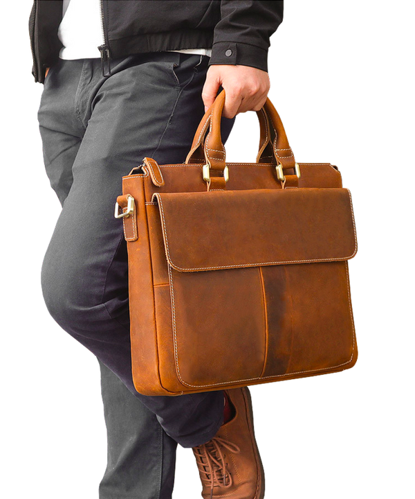 Counselor Zip-top Briefcase