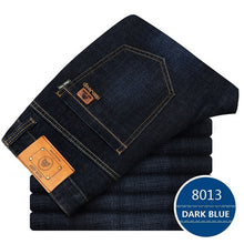 Load image into Gallery viewer, Big Size Plus 40 42 2019 Nian JEEP brand Men Jeans Classic Men's Clothing Casual Denim trousers Men Regular Blue jean pants Male