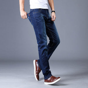 2020 NEW Spring and autumn new jeans men's slim men's jeans men's jeans men's straight stretch trousers TH1231-01-10