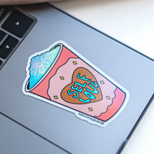 Load image into Gallery viewer, Self Love Cup - Holographic Sticker
