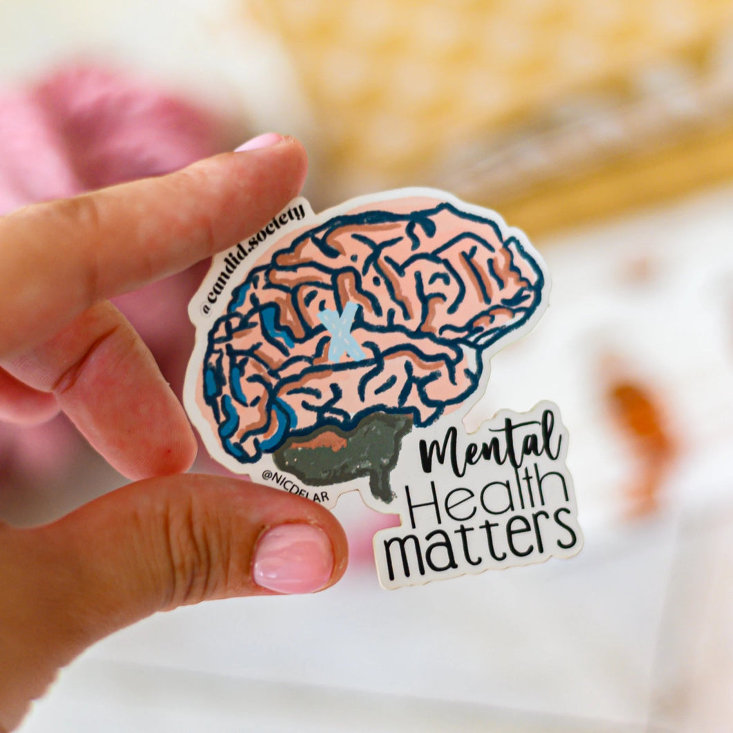 Mental Health Matters - Premium Sticker