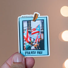 Load image into Gallery viewer, Puerto Rico Hanging Picture - Premium Sticker