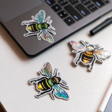 Load image into Gallery viewer, Abeja (Bee) - Holographic Sticker