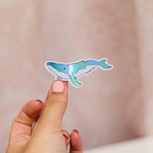 Load image into Gallery viewer, Ballena (whale 🐋) - Holographic Sticker