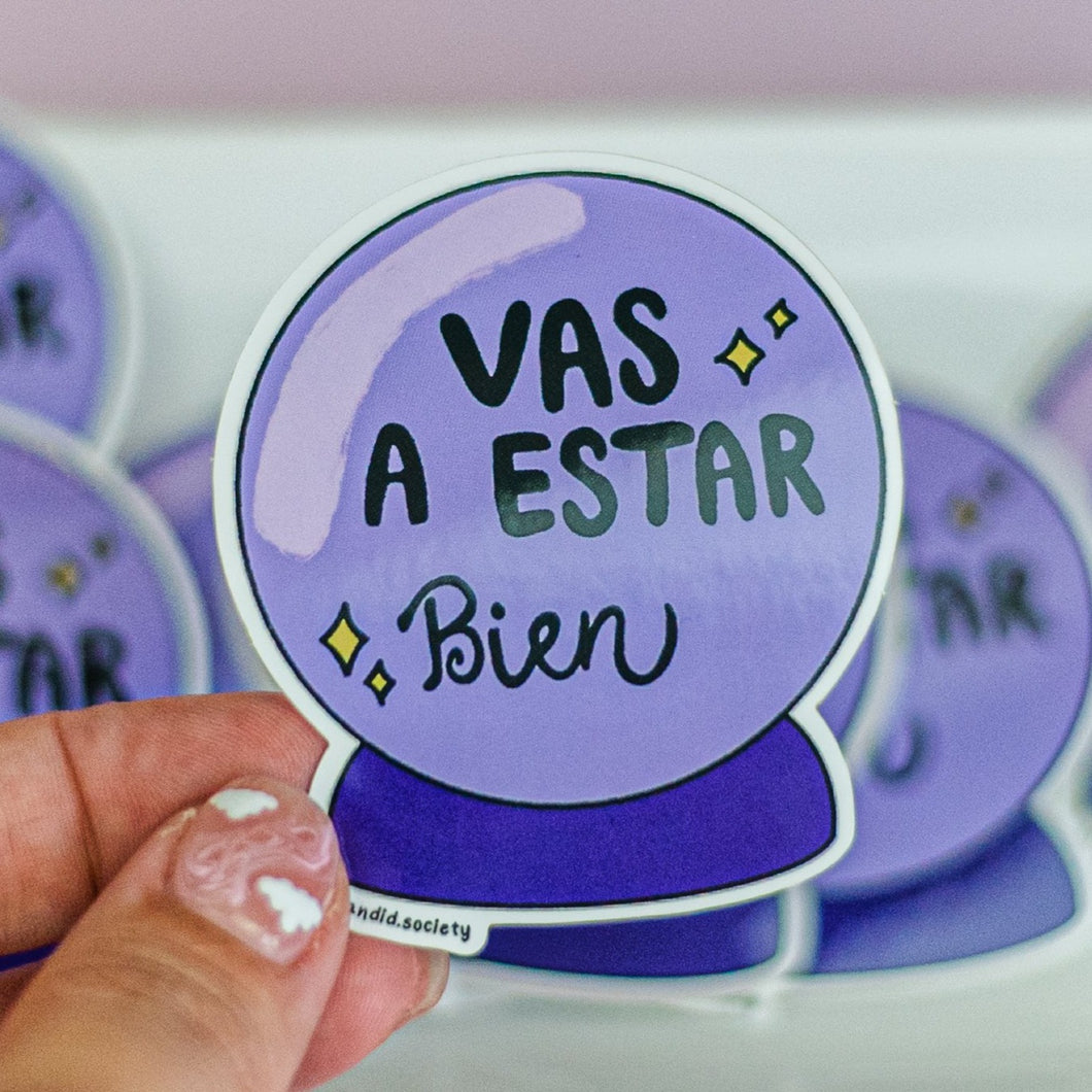 Vas a estar Bien - Premium Sticker