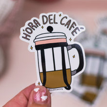 Load image into Gallery viewer, Hora del Café - Premium Sticker
