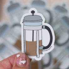 Load image into Gallery viewer, French Press - Premium Sticker