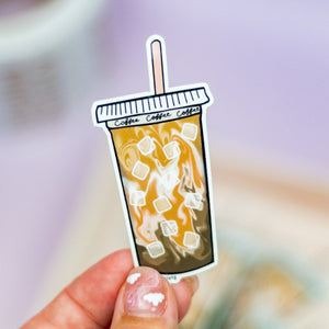 Big Iced Coffee - Premium Sticker