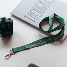 Load image into Gallery viewer, go after a life of love - Keychain
