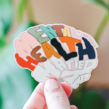 Load image into Gallery viewer, Mental Health Matters Brain - Premium Sticker
