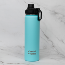 Load image into Gallery viewer, Signature 22oz Water Bottle in Blue
