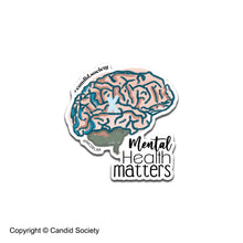 Load image into Gallery viewer, Mental Health Matters - Premium Sticker