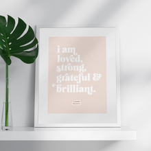 Load image into Gallery viewer, I am Loved - Premium Art Print