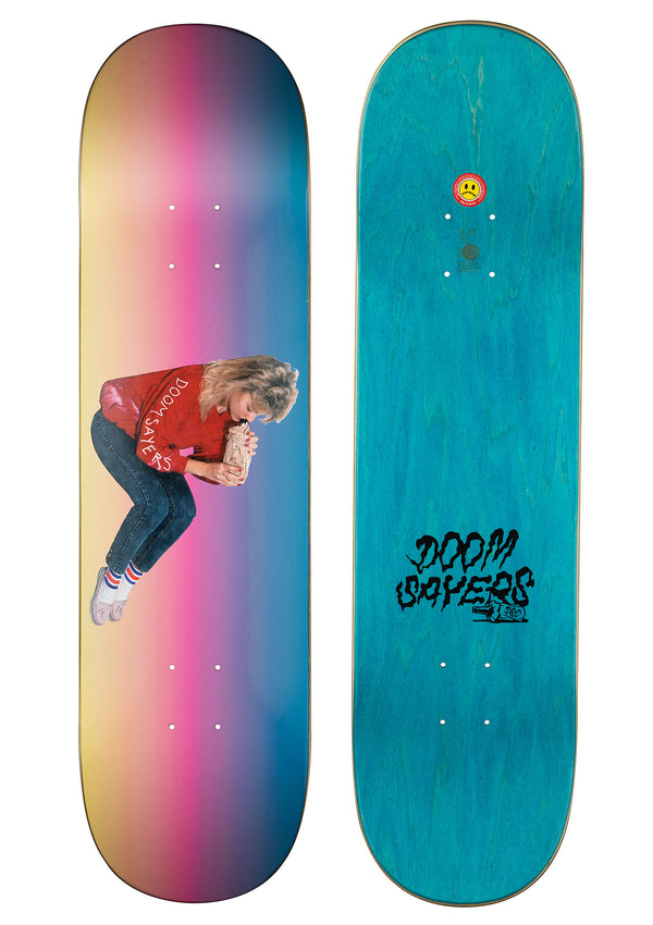 Becky Rainbow Doomsayers Skateboard