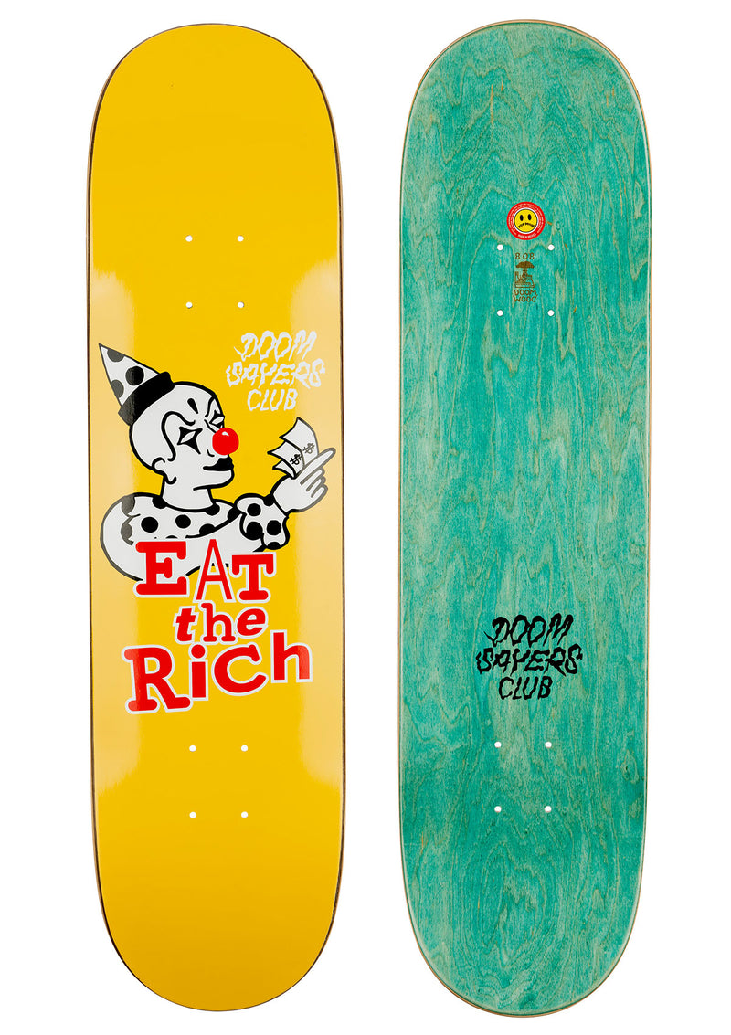 Eat The Rich - Doomsayers Skateboard