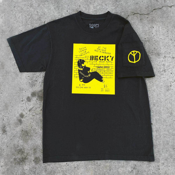 Doomsayers Becky Flyer T-shirt - Black