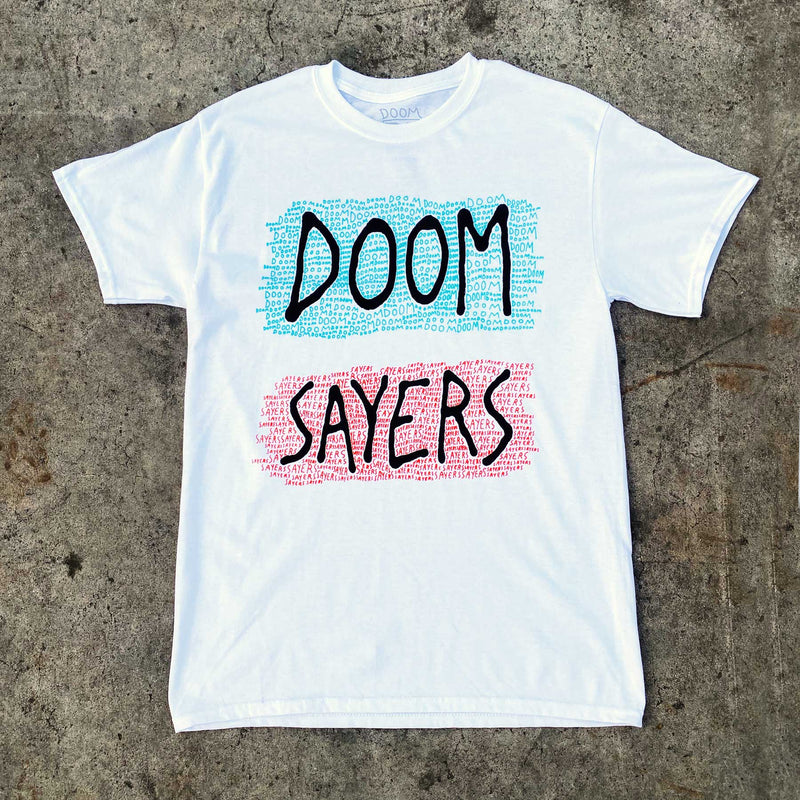 Doomsayers Crawl T-Shirt - White