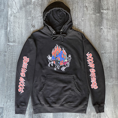 World On Fire Hoodie