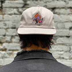 World On Fire 5 Panel Unstructured Hat