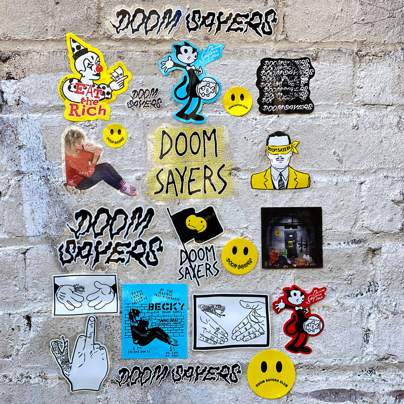 Doom Sayers sticker pack