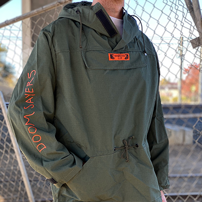 Rambo Army Green Windbreaker