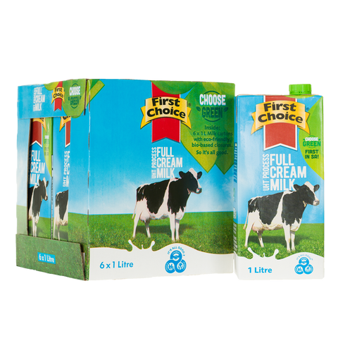 Milk | Full Cream Long Life -1 x 6 pack (1L)