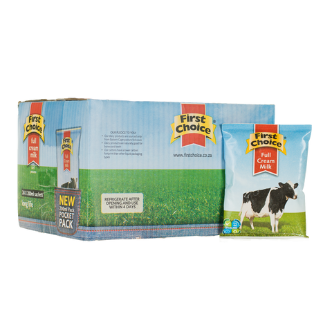 Milk | Full Cream Long Life -1 x 24 pack (200ml)