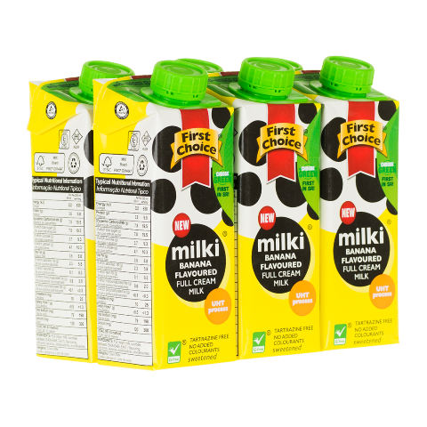 Milki | Banana Flavoured - 1 x 6 pack (250ml)