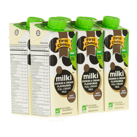 Milki | Cookies & Cream Flavoured - 1 x 6 pack (250ml)