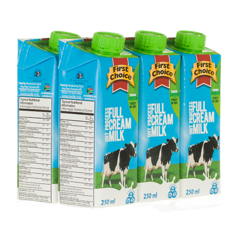 Milk | Full Cream Long Life  - 1 x 6 pack (250ml)