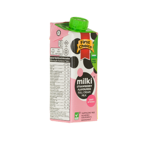 Milki | Strawberry Flavoured - 1 x 6 pack (250ml)