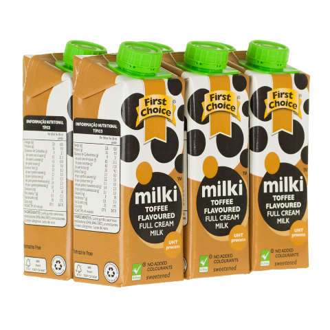 Milki | Toffee Flavoured - 1 x 6 pack (250ml)