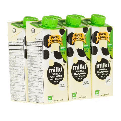 Milki | Vanilla Flavoured - 1 x 6 pack (250ml)