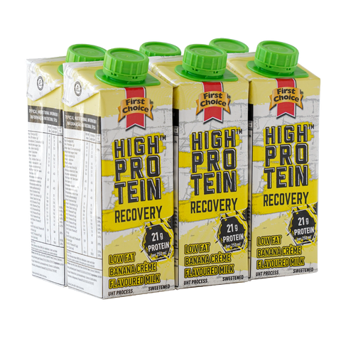 High-Protein Recovery Milk | Banana Crème Flavoured  - 1 x 6 pack (250ml)