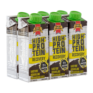 High-Protein Recovery Milk | Chocolate Flavoured - 1 x 6 pack (250ml)