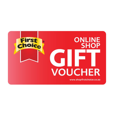 Shop First Choice Gift Card
