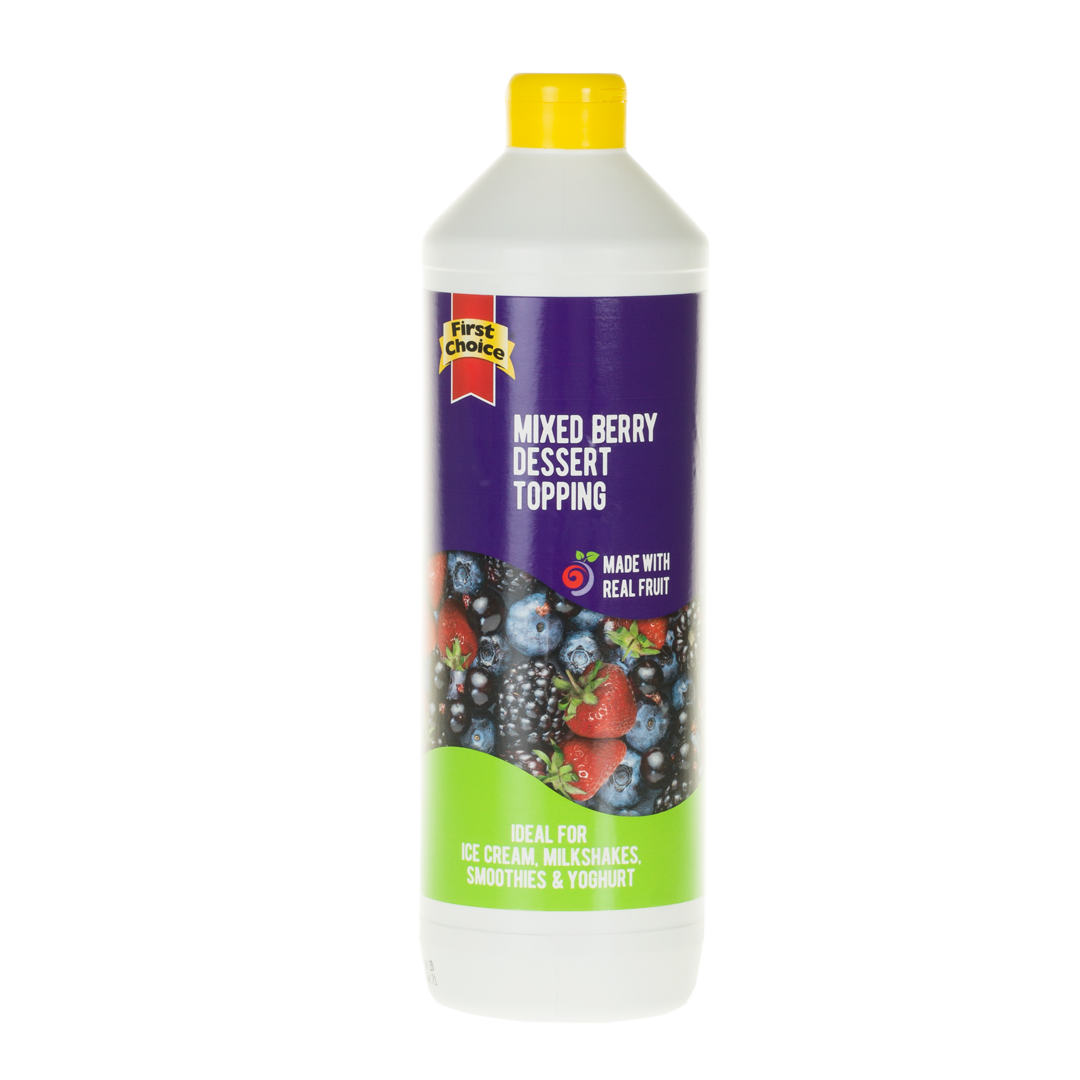 Dessert Topping | Mix Berry Flavoured - 1L