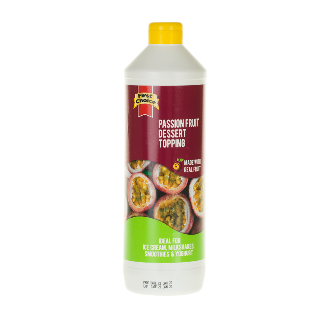 Dessert Topping | Passion Fruit Flavoured - 1L