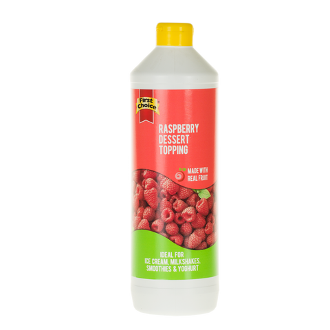 Dessert Topping | Raspberry Flavoured - 1L