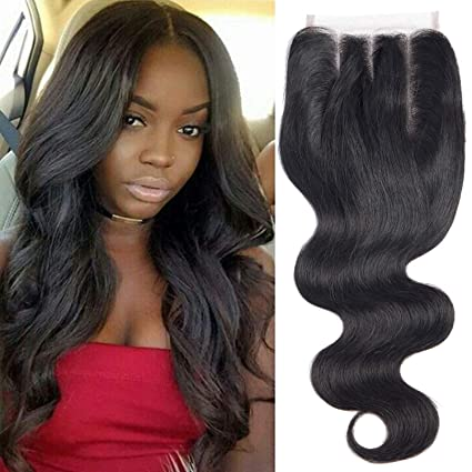 Enerual Beauty Hair Body Wave 6*6 suisse Transparent dentelle brésilien cheveux humains - LUXURY FABULOUS COLLECTION