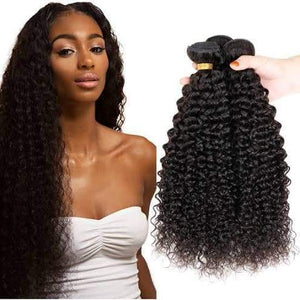 "ENERUAL BEAUTY Kinky Curl Indian Hair 100% Natural Human Hair 12""-26"" - LUXURY FABULOUS COLLECTION"