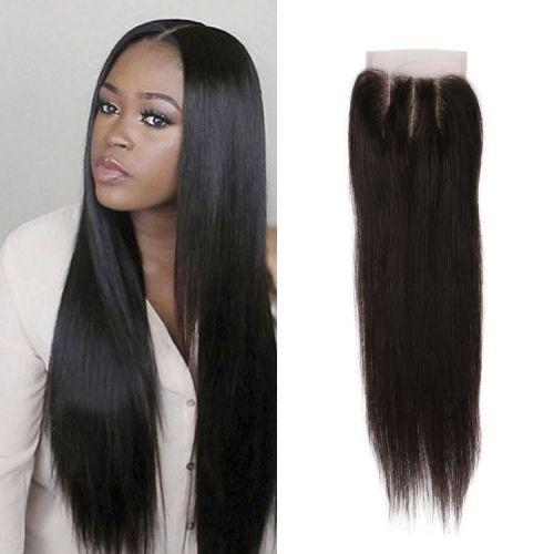 Enerual Beauty Hair Brazilian Transparent Lace 7x7 Closure Straight Hair  color natural - LUXURY FABULOUS COLLECTION