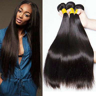 ENERUAL BEAUTY  Indian Straigth Hair Human Hair Bundles 8-30in 1/3/4 Pc. - Enerual Beauty