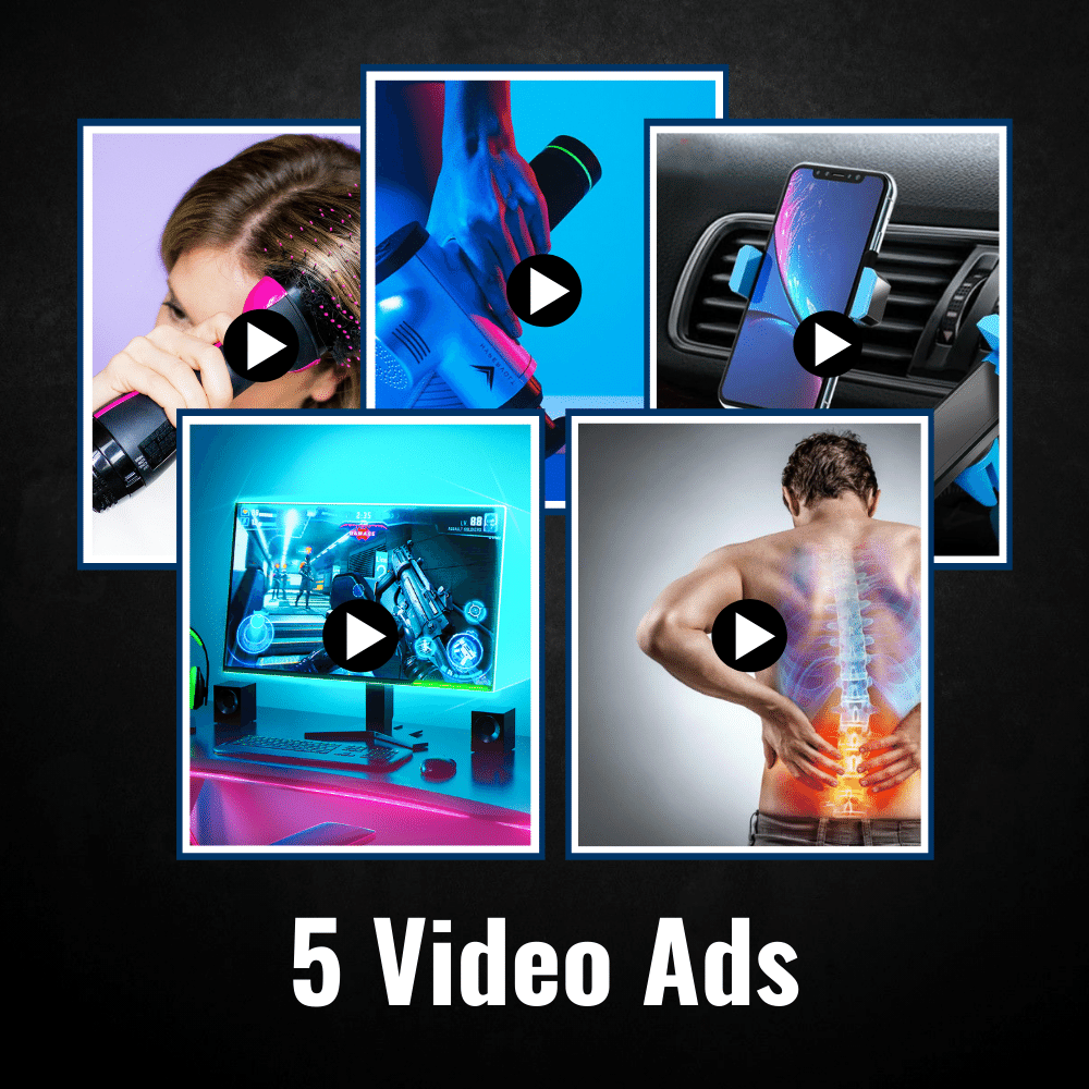 5 Video Ads - Top Notch Adz™