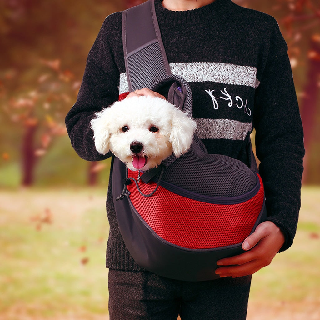 Pet Puppy Carrier Bag Outdoor Travel