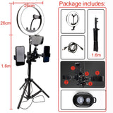 "10"" LED Photo Studio Camera Light"