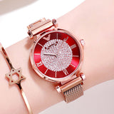 Diamond Rose Gold Wrist Watch