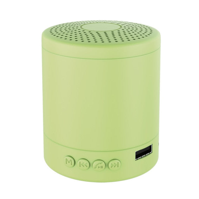 Portable Macaron Bluetooth Speakers