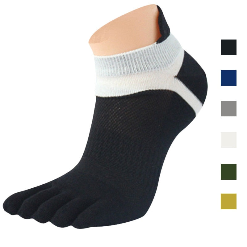 Sports Running Five Finger Toe Socks